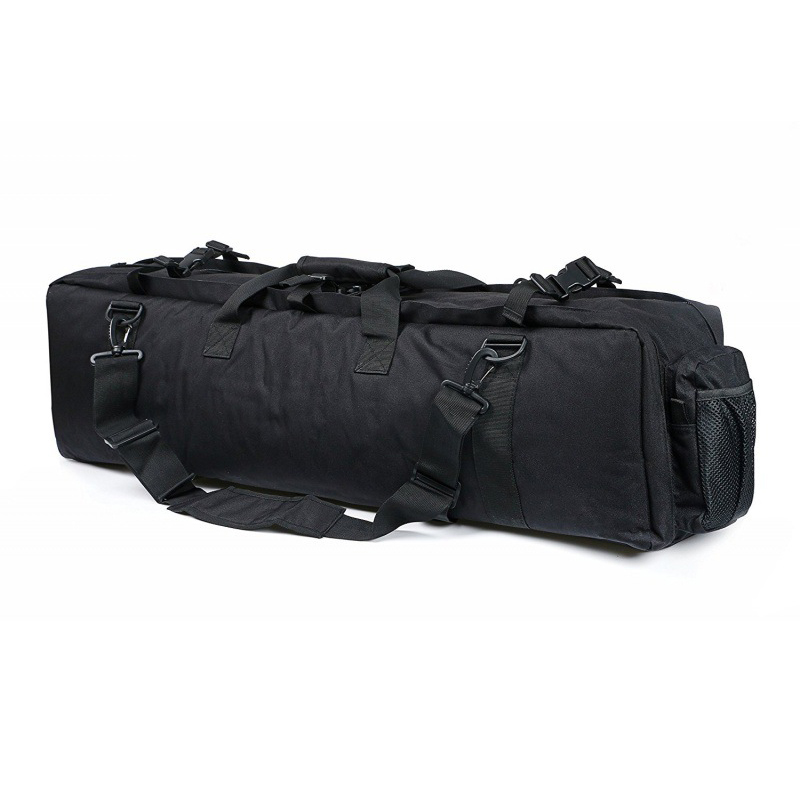 Image 5 - Nylon Heavy Duty M249 Tactical Gun Bag Outdoor Hunting Airsoft Rifle Gun Carry Case Shoulder Holster about 96cm-in Holsters from Sports & Entertainment