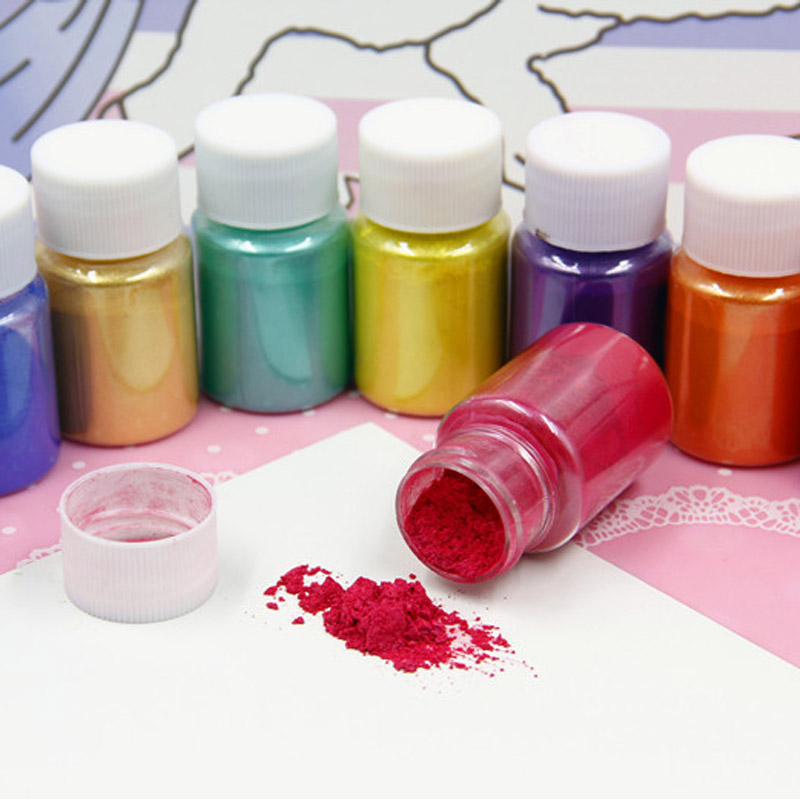 10g DIY Addition In Slime Glitter Powder Filler Pigment Decoration Kids Toys Interactive Pearl Powder Dye Fluffy Slime Supplies