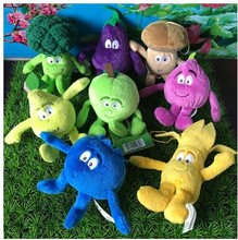 2018 new arrival stuffed Cherry  broccoli carrot toy baby children decoration room toys frutas peluche strawberry plush  fruits