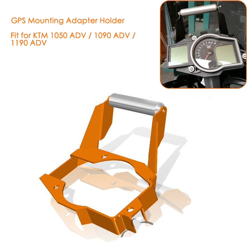 67fd2d701d8c New for KTM 1050 1090 1190 Adventure ADV Motorcycle Instrument GPS Mount  Mounting Adapter Holder Bracket