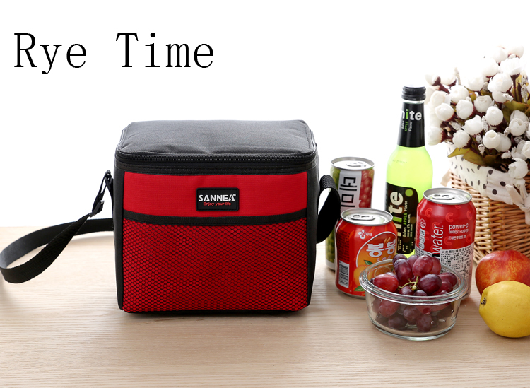 New Branded Small 600d Oxford Thermal Bag Lunch Box Picnic Shoulder Insulated Ice Pack Cooler Insulation In Bags From Luggage On