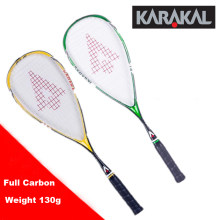 130G Official Karakal Carbon Squash Rackets Green Yellow Squash Racquets With Grip Bag Racquet Sports Graphite Squash Racket SLC(China)