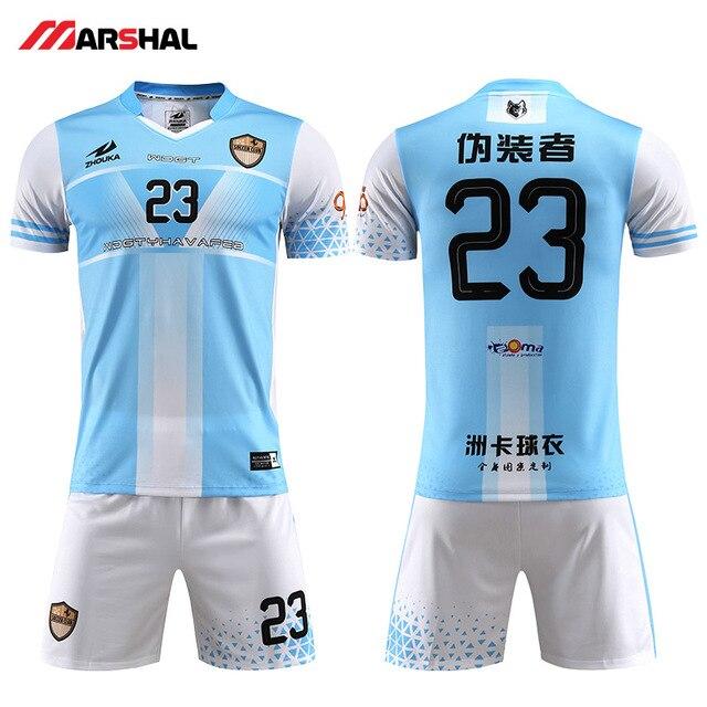 612dae9341 Nuevo populares kits de fútbol de la práctica de fútbol equipo uniforme jersey  de diseño