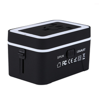 Yulass Travel Universal Power Adapter USB Wall Charger AC Power Plug Adapter Charger With Dual USB