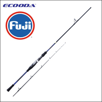express shipping Ecooda pure FUJI components sea classic offshore boat fishing rod spinning 1.75m 2m 2.3m