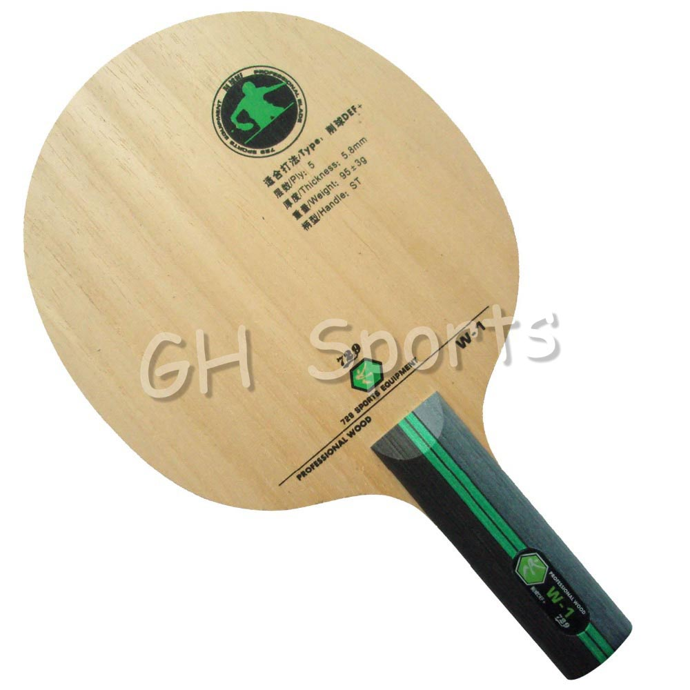 где купить RITC 729 Friendship W-1 W1 W 1 Chop DEF+ Professional Wood Table Tennis Blade ST for PingPong Racket по лучшей цене