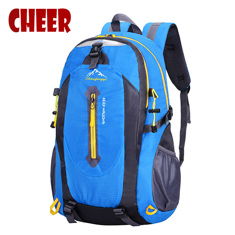 2017 new Fashion Men's backpack men travel bags Multifunction color backpack Camp Climb Bag Rucksack trekking bag high quality