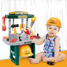 Pretend Play Toy Utensils Simulation Repair Tool Set Boy Toys Multifunction Puzzle DIY Hand Table Educational