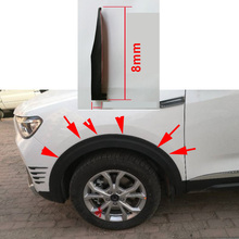 width 8cm 1.75 meters long car Protector Strips Width TPVC Lip Protector Black Car Scratch Resistant Rubber