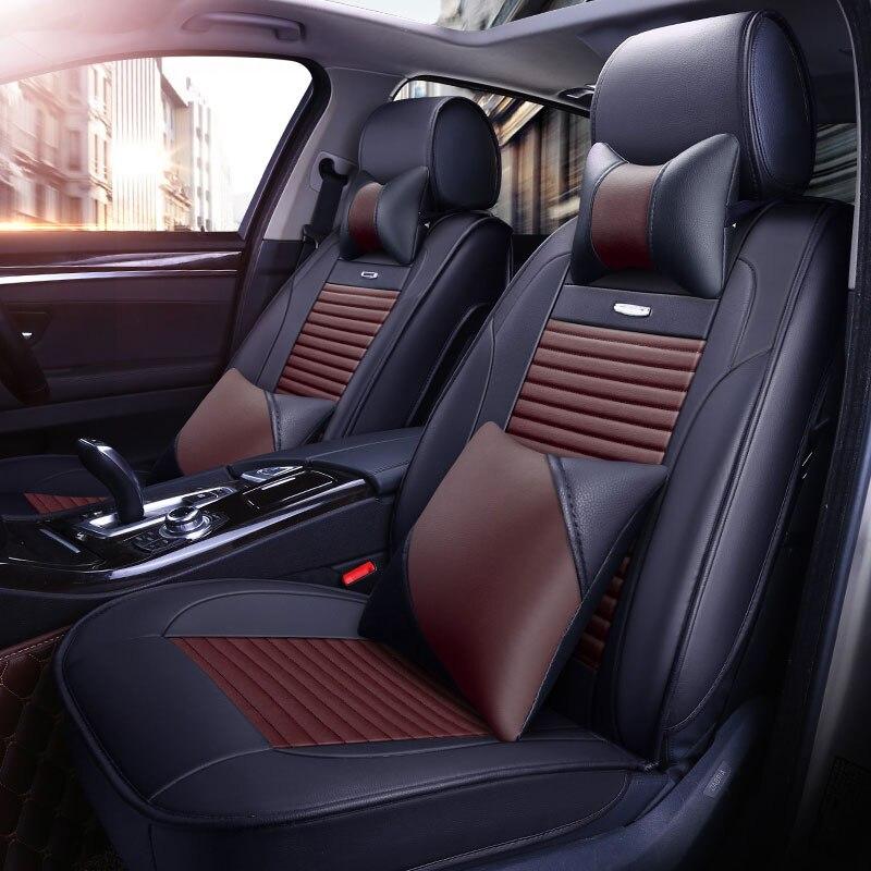 Car Seat cover for volkswagen vw cc bora polo 6r 9n sedan sagitar santana volante 2014 2013 2012 seat cushion covers accessories