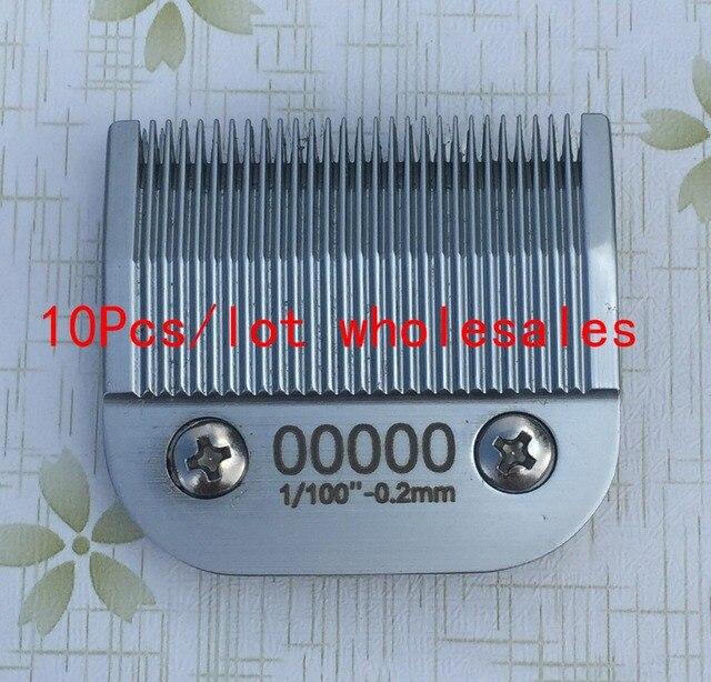 10pcs/lot  00000#(1.2mm) Clipper detachable blade wholesales steel or ceramic