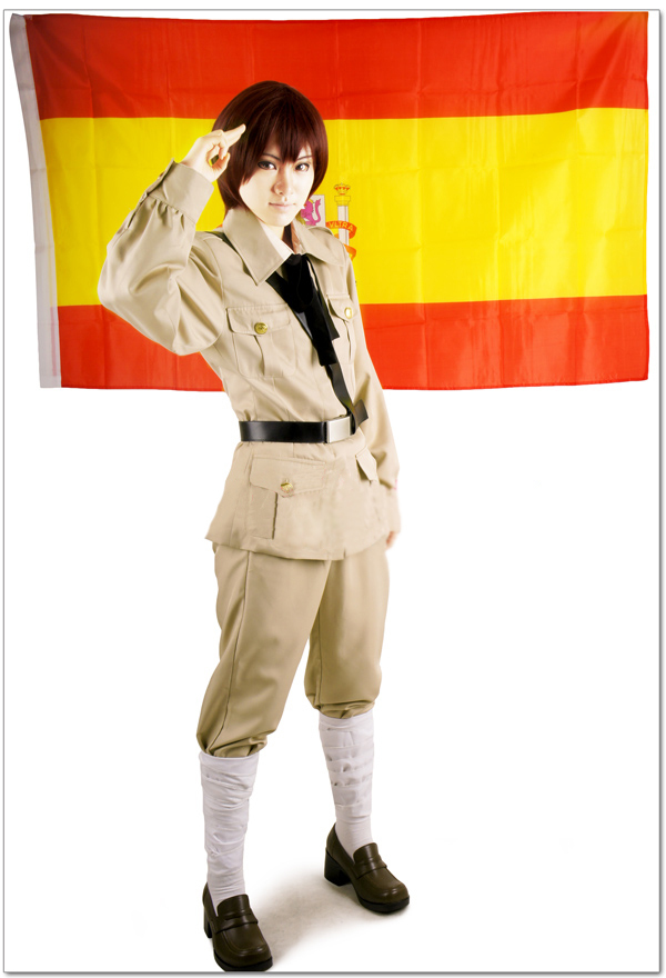 Free Shipping Axis Powers Hetalia Kingdom of Spain Antonio Fernandez Carriedo Uniform Anime Cosplay Costume