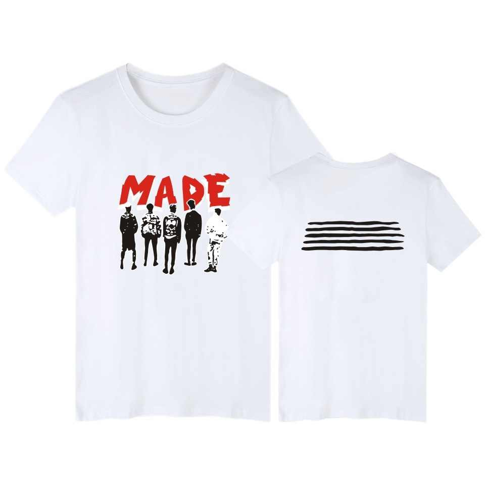 VAGROVSY Bigbang и сделано футболка Для женщин Для мужчин летние шорты с круглым вырезом футболка Big Bang концерт такой же всех задействованных футболка с принтом Повседневная