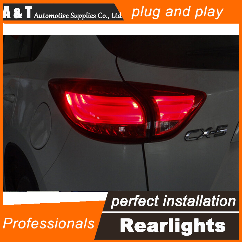 A&T Car Styling for Mazda CX-5 Taillights 2011-2015 CX5 LED Tail Lamp New CX-5 LED Rear Lamp DRL+Brake+Park+Signal led light