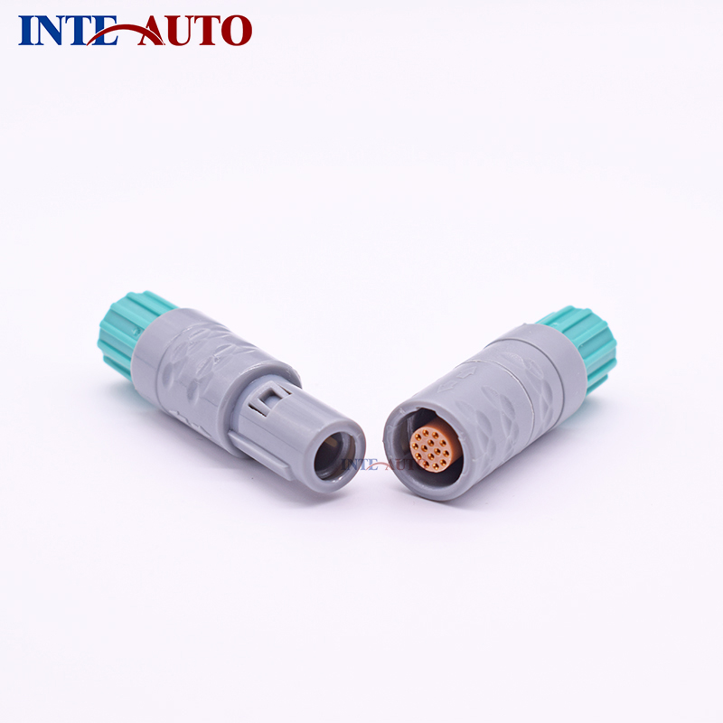 LEMOs REDELs Plastic connector, medical push pull self-locking cable to cable connector,2,3,4,5,6,7,8,10,14 multi pins lemo 1p series 2pin connector pab plb 60 degrees dual positioning pins medical connector 2 pin oximetry sensor connector