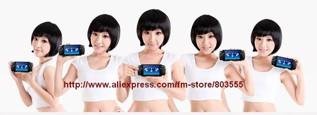 4.3 inch 4GB handheld video game consoles player e books + Camera + Fm pmp mp5 mp4 portable multimedia entertainment -frees