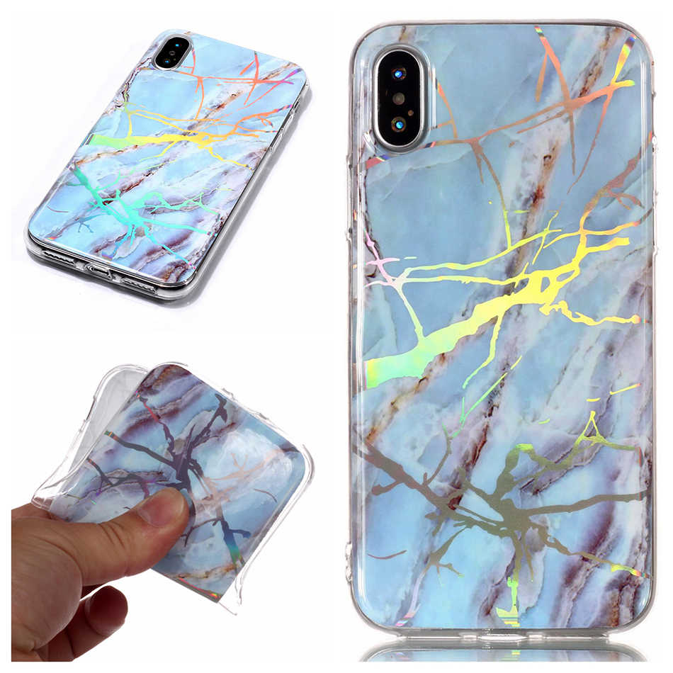 For Nokia 6 2018 Simple Marble TPU Cases Scrub Case for Nokia 1 7 Plus Protective shell For iphone 8 Case 6S SE 5 5S 4 4S B02
