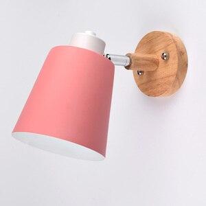 Image 4 - Lámpara de pared LED nórdica, creativa, para comedor, restaurante, pasillo, cafetería, dormitorio