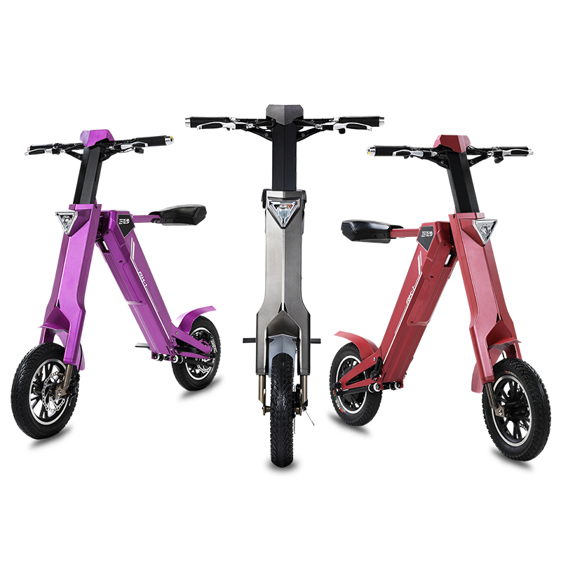 Electric scooter smart bike 240w motor Automated folding electric city bike Bluetooth speaker fast charging 20km/h electric bike