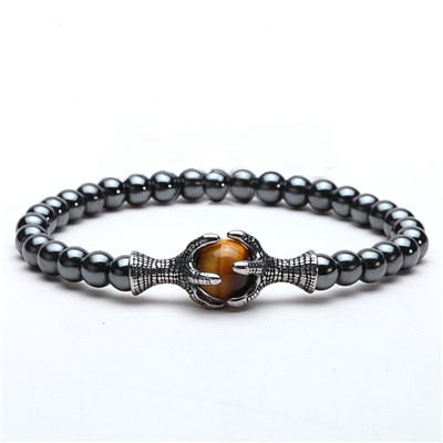Bracelet Men Natural Stone...