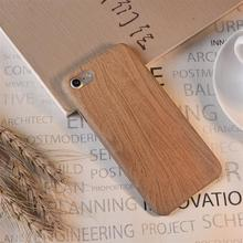 Yokata Soft TPU Case For iPhone 7 Case Wooden Pattern Back Shell Wood Grain Phone Cases For iPhone 7 7 Plus