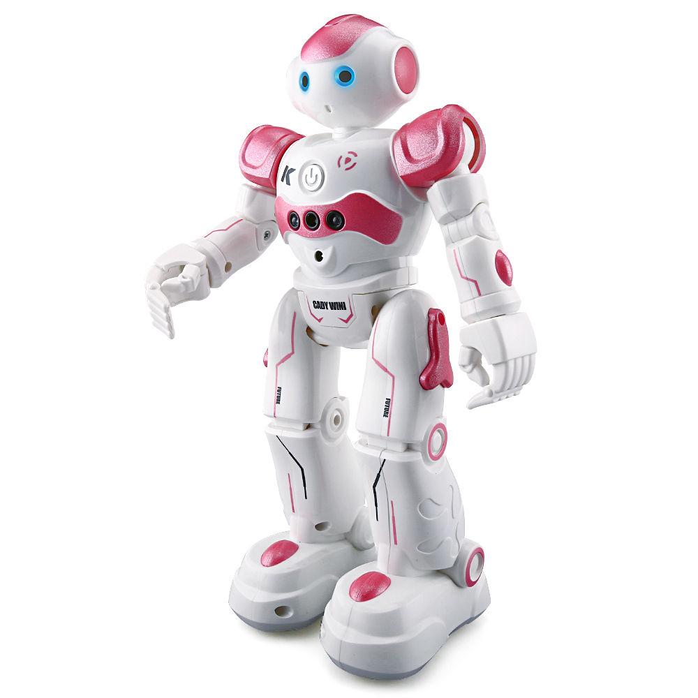 купить JJR/C JJRC R2 RC Robot Gesture Sensor Dancing Intelligent Control Program CADY WIDA Toy USB Charging Blue/Pink недорого