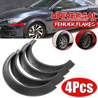 Left + Right Universal Car For Fender Flares Extension Flexible Wide Wheel Arches Car Sedan Coupe 2dr/4dr For Benz For BMW
