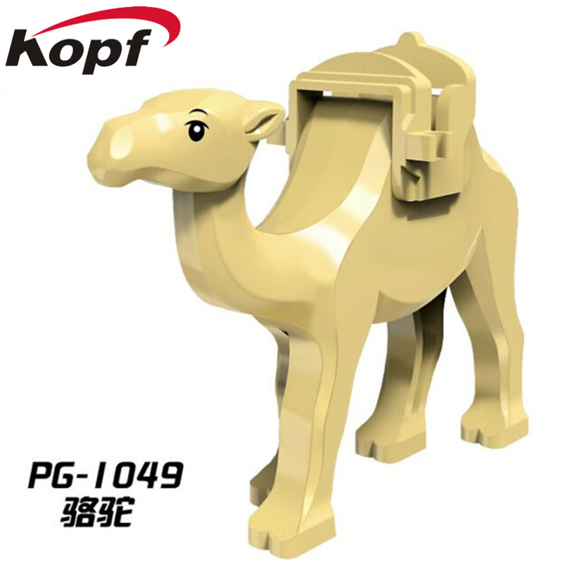Super Heroes Jungle Adventure Camel With Saddle Prince of Persia Jabba's Rancor Smaug Shark Building Blocks Children Toys PG1049