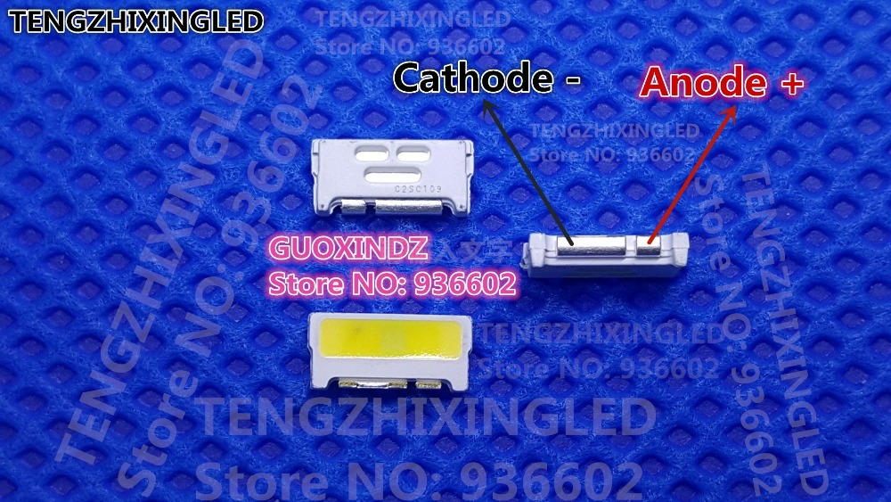 For SAMSUNG  LED  LCD  Backlight TV Application   LED Backlight   Edge LED Series  0.7W  3V  7032  Cool White     A150GKCBBUP5A