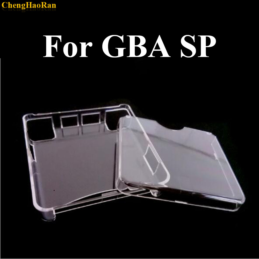 ChengHaoRan 1pcs Hard Protective Shell Crystal Case for Nintendo Gameboy Advance SP GBA