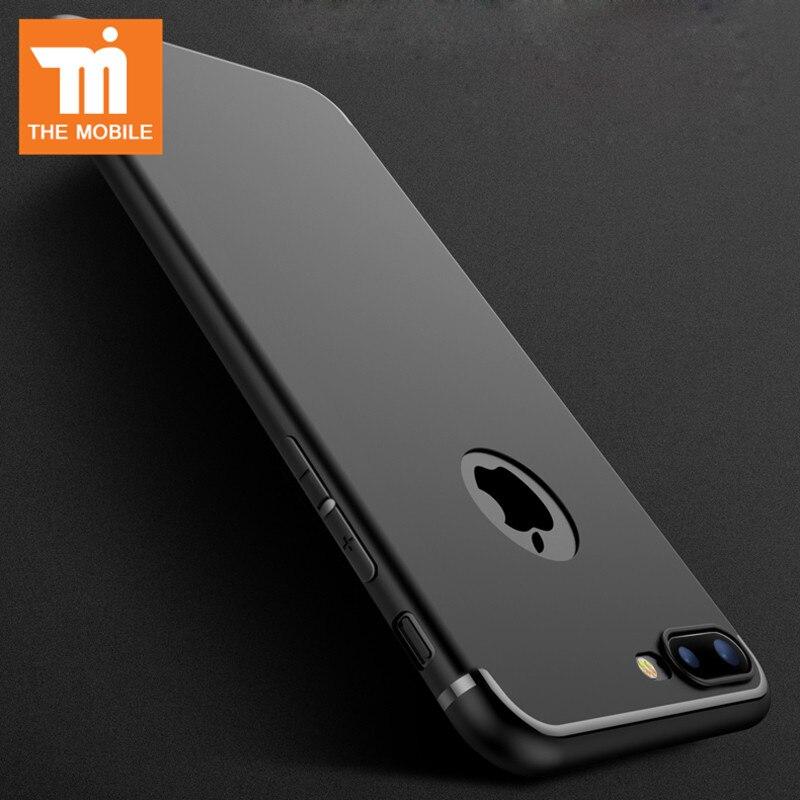 Alta calidad de lujo casos soft gel tpu case para iphone 7 para iphone7 case plu