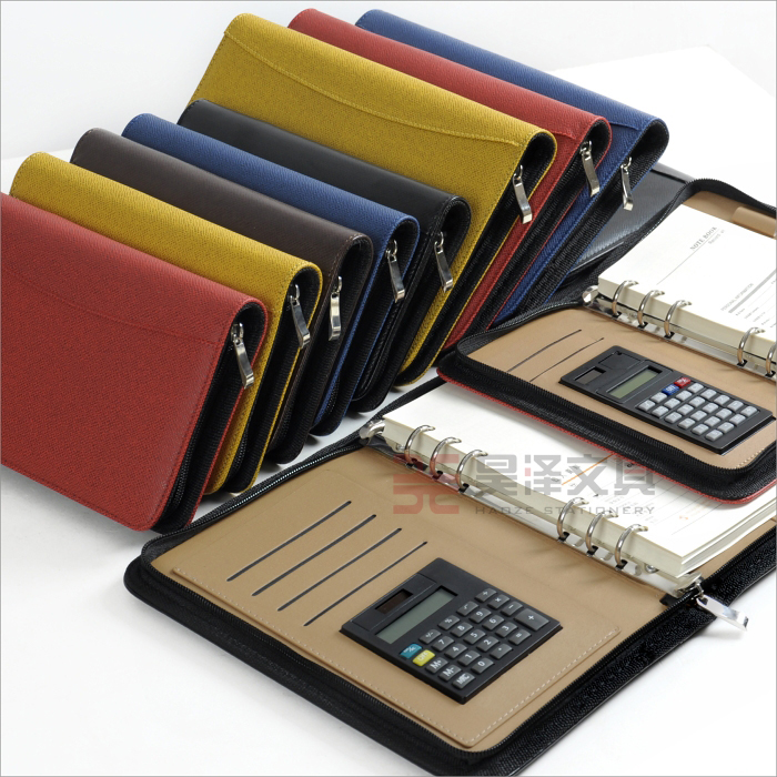 Business Padfolios A5 Leather Notebook with Calculator Memo Pad Office Organizer Folios frank buytendijk dealing with dilemmas where business analytics fall short