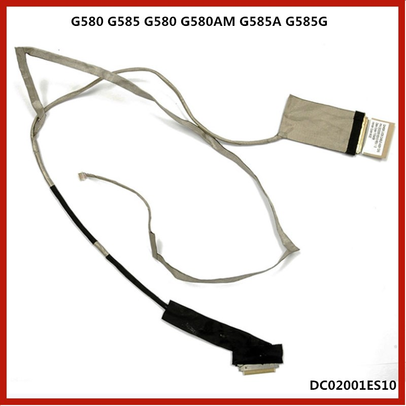 Cable Length: Other Computer Cables LCD Screen Video Cable for Lenovo G485 G580 G585 Laptop Screen Display Cable DC02001ES10