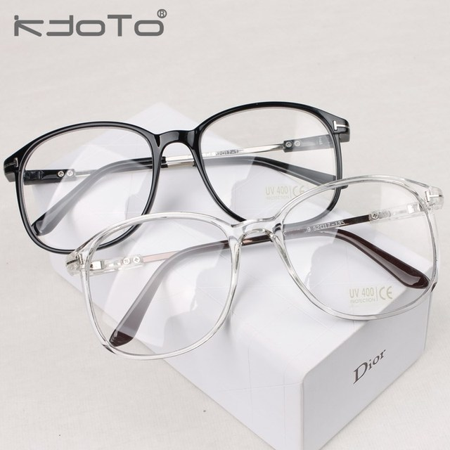 Vintage transparent glasses frame inlaying metal eyeglasses frame ...