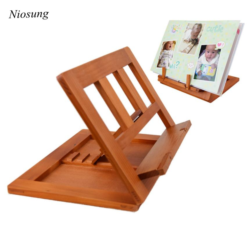 Niosung Prevent Myopia Kid Baby Toy Wooden Frame Reading ...