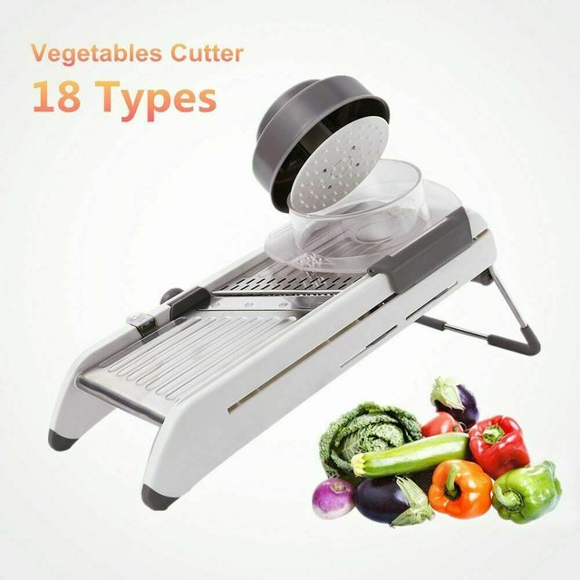 Multipurpose Adjustable Blade Vegetable Slicer