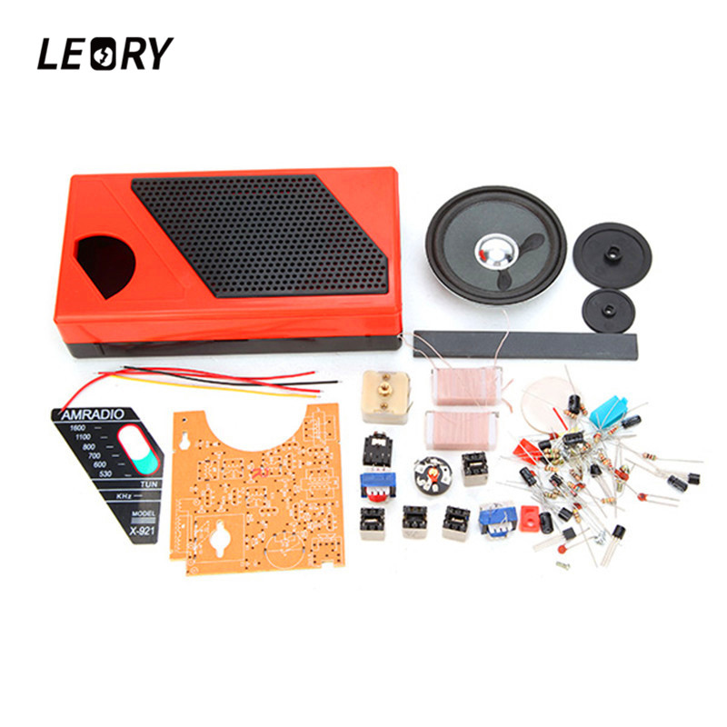 LEORY DIY <font><b>8</b></font> <font><b>Tube</b></font> <font><b>Radio</b></font> <font><b>Kit</b></font> Electronic Spare Part <font><b>Radio</b></font> Accessorries 145 x 75 x 35mm image