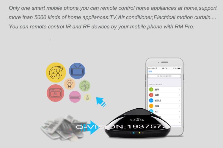 3-Broadlink RM2 RM PRO Universal Smart Wifi Remote IR RF + A1 E-Air Quality Detector Infrared Home Automation kit Sensor Smart App