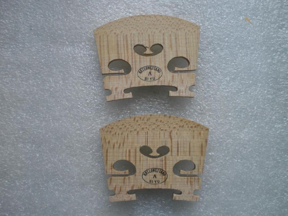 16 PCs Best Quality Violin Bridge 4 4 European wood Maple Bridge Violin parts