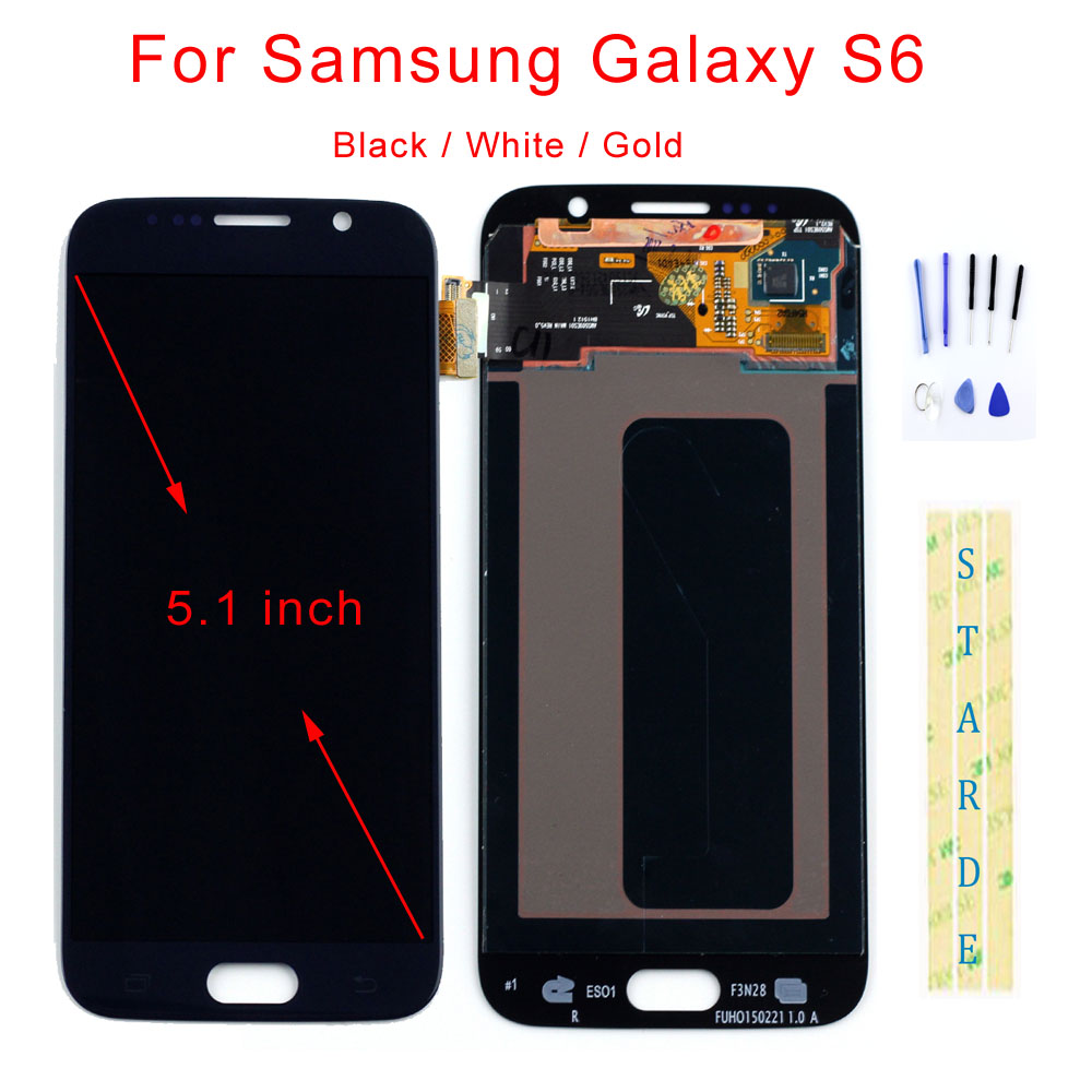 STARDE Replacement LCD For Samsung Galaxy S6 LCD Display Touch Screen Digitizer Assembly 5.1STARDE Replacement LCD For Samsung Galaxy S6 LCD Display Touch Screen Digitizer Assembly 5.1