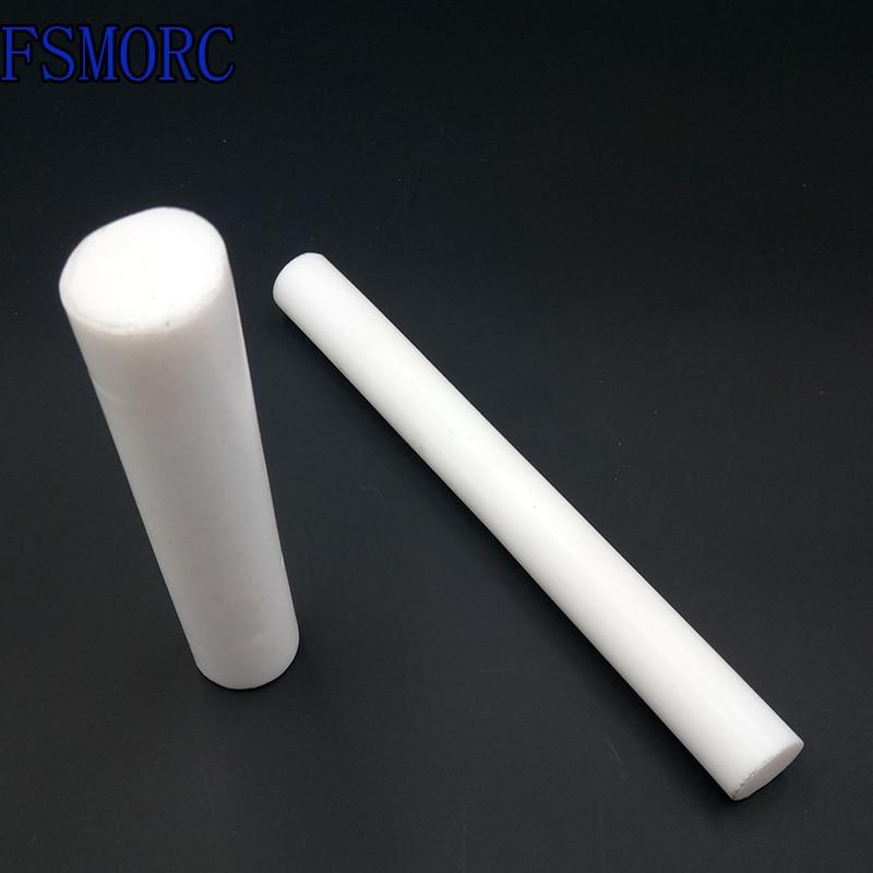 1 pc New 100mm Long PTFE Teflon Round Rod Bar Dia 8mm 8 mm