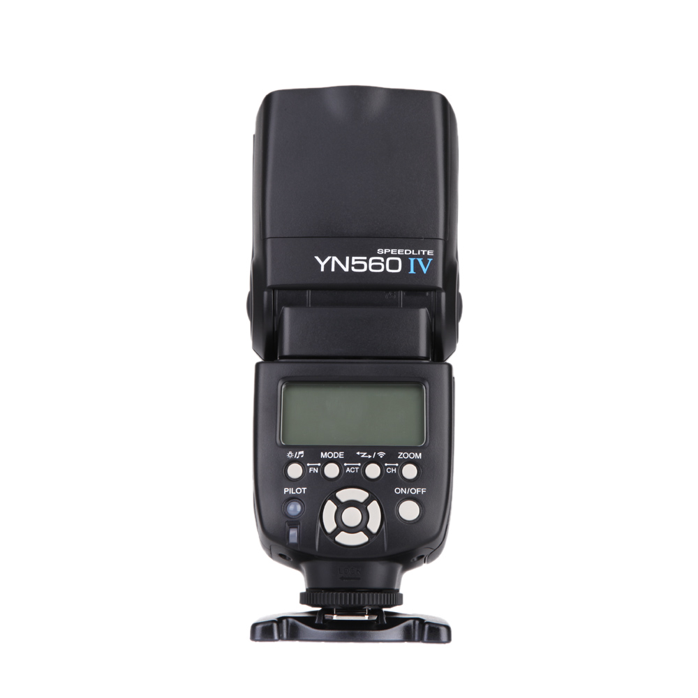 Image 2 - yongnuo YN560 iv YN560IV 2.4GHZ Wireless Flash Speedlite Transceiver Integrated for Canon Nikon Olympus Pentax Sony Camera-in Flashes from Consumer Electronics