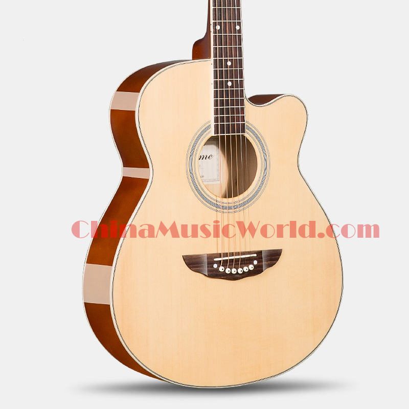 40 inch AA Spruce Top / Basswood Back & Sides / AFANTI Acoustic Guitar (ACM-265) chiyuan cr v6 6 plastic stainless steel plier black