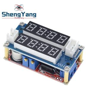 XL4015 5A Adjustable Power CC/CV Step-down Charge Module LED Driver Voltmeter Ammeter Constant current constant voltage(China)