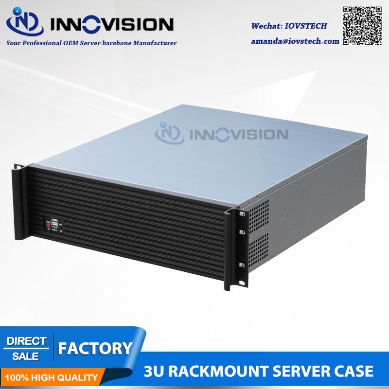 Fashionable 3U Rack Mount 8 Bays Server Case RX3500L