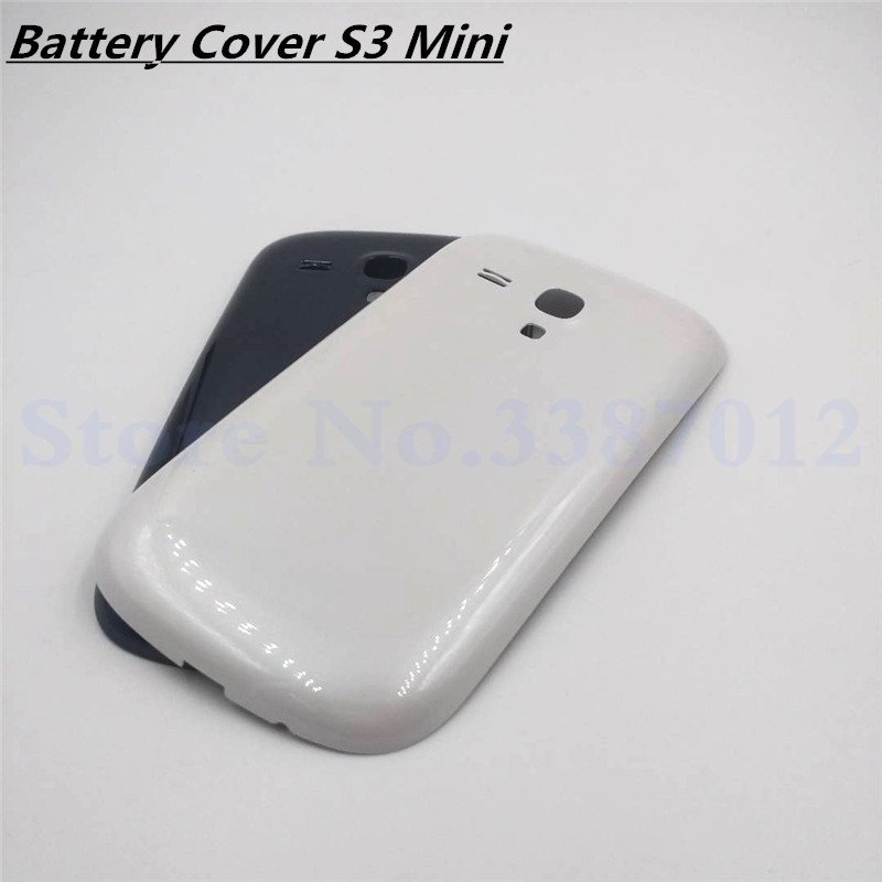 Replacement For Samsung Galaxy S3 Mini <font><b>Back</b></font> Housing Cover Case For Samsung S3 Mini <font><b>i8190</b></font> Door <font><b>Battery</b></font> Cover image