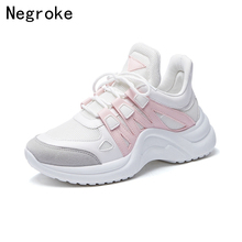 Cute Women Vulcanize Shoes Woman Casual White Sneakers Baskets Femme Thick Soled Flat Platform Canvas Tenis Feminino