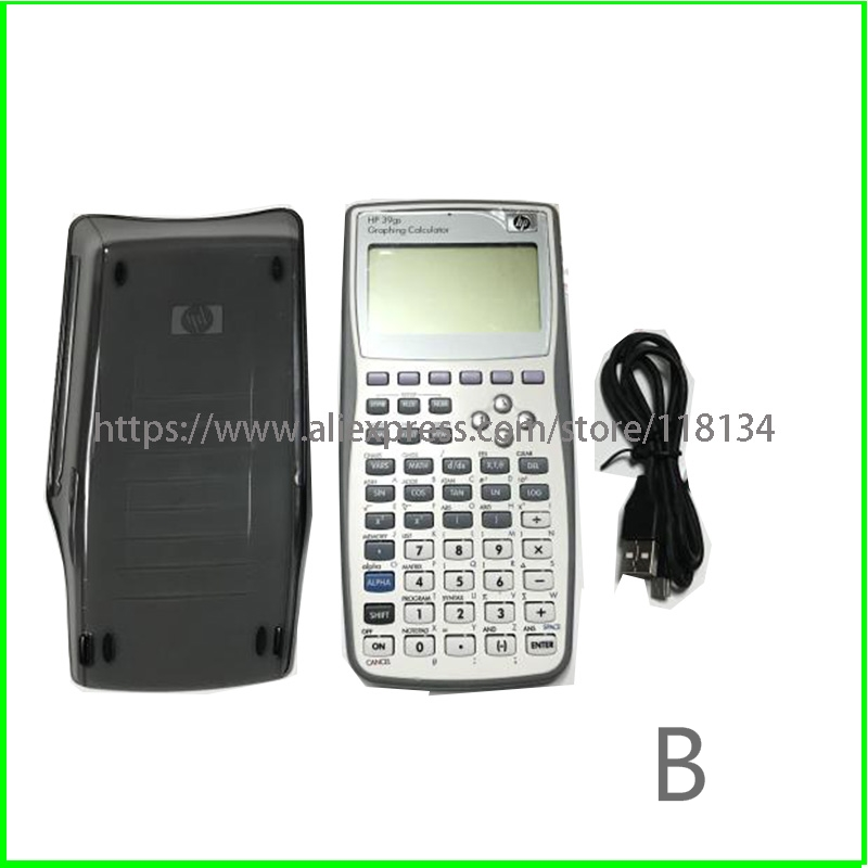Graphics Calculator For HP 39gs Graphics Calculator Teach SAT/AP Test For Hp39gs USB Cable Protect Shell