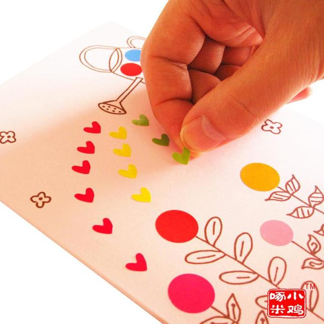 DIY Sticker Handmade Greeting Cards Painted Package Material Mid Autumn Festival Gift To Send Teachers Day Card Thanks