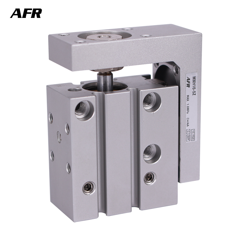 Compact Slide Series MXH20-40 MXH20-50 MXH20-60 pneumatic slider (linear guide) Air cylinder Bore 20mm Stroke 40 50 60mmCompact Slide Series MXH20-40 MXH20-50 MXH20-60 pneumatic slider (linear guide) Air cylinder Bore 20mm Stroke 40 50 60mm